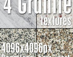 4 High Res Seamless Granite Textures Vol03 Part1 3D