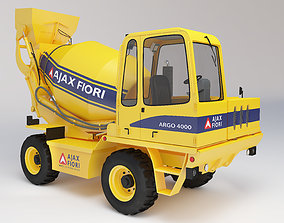 3D model model Mixer Truck