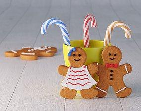 Cookie Decor 01 3D model