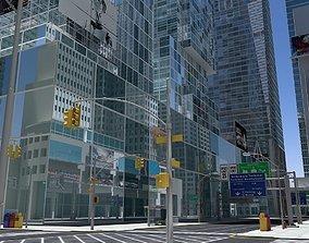 3D High Def City Street 2