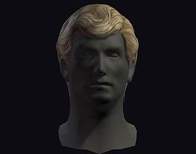 3D model hair style 17