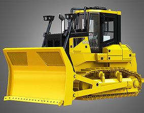 3D bulldozer JD - 950J Waste Handler Crawler Dozer