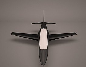 3D Military Aircraft airplane jet