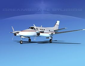 Beechcraft King Air C100 V13 3D model