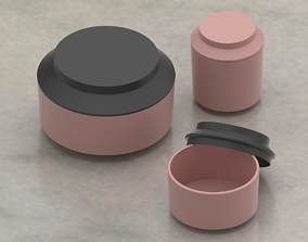 3D model Normann Copenhagen Geo Jar Storage Containers