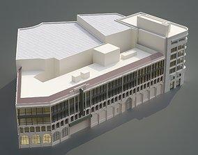 3D model Orpheum Theatre San Francisco