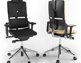 3D Steelcase Please executive chair