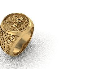 Ring 51 man George 3D print model