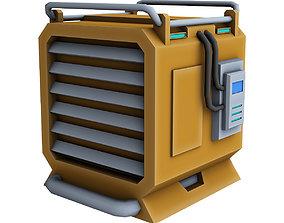 realtime Generator Sci Fi 3d model