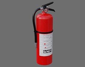 3D model Fire Extinguisher 1A