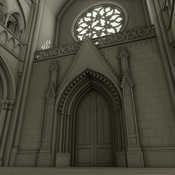 Gothic Interior Environment
