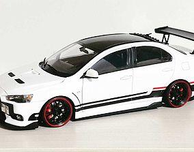 RC Rear Spoiler for Model Cars