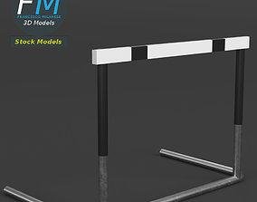 3D Track hurdle