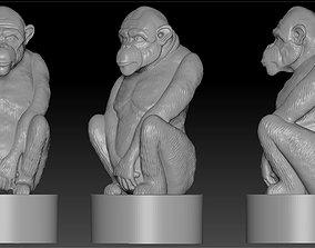 3D print model the figure of a monkey