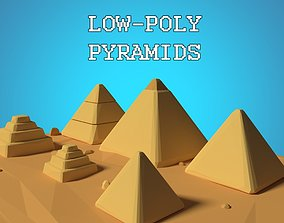 3D model Pyramid Assets Low Poly