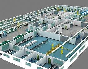 office 3D model Factory