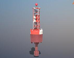 3D model Navigation Buoy