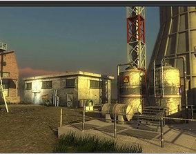 3D model Industrial Buildings 4
