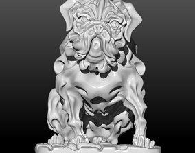 Mops dog 3D print model