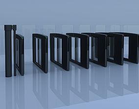 3D model Speed gate