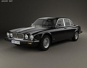 Jaguar XJ Series 3 1979 3D