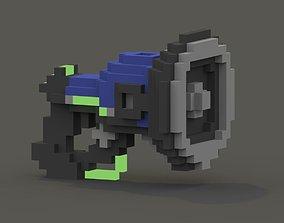 Lucio Sonic Amplifier Voxel 3D asset