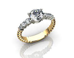 3D printable model Carat Diamond Ring