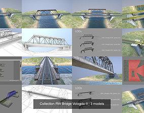 3D model Collection RW Bridge Vologda-II