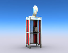 3D model Phone Booth 2