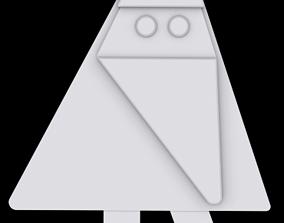 3D printable model Santa Ornament 2
