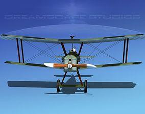 3D model RAF SE5A Fighter V04