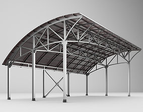 3D Metall carport 1