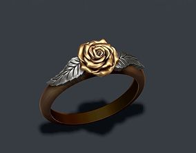 3D printable model Rose ring rose
