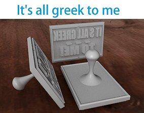 3D print model Funny stamp