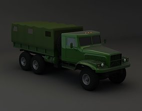 Truck KRAZ 255 B Modify 2 3D model