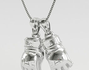 3D print model ufc gloves