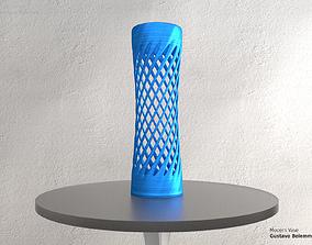 Modern Vase Super Spiral 3D print model
