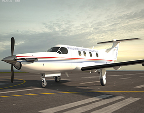 3D Pilatus PC-12