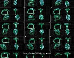 Women Earring 31 Model 3DM File
