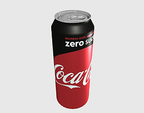 3D model Can Coca Cola Zero 50cl
