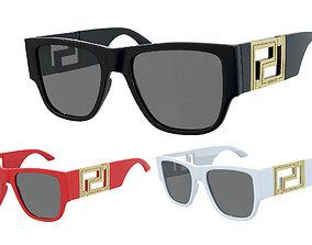 3D model Versace sunglasses Greca