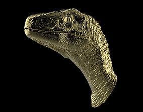 3D printable model Jurassic Park dinosaur Raptor necklace