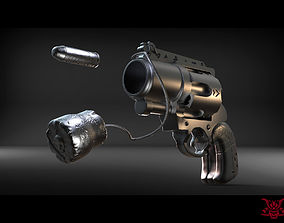 Harley Quinn Handgun 3D printable model