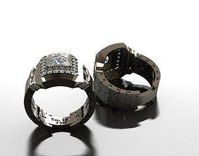 3D printable model Rolex design men ring