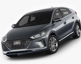 Hyundai Ioniq Hybrid 2017 3D model