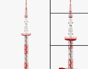 Communication Tower 03 3D model