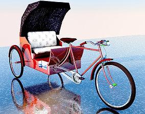 3D Bike Rickshaw