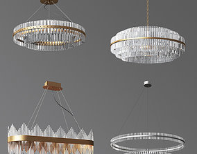 3D model 4 Ceiling Light Collection