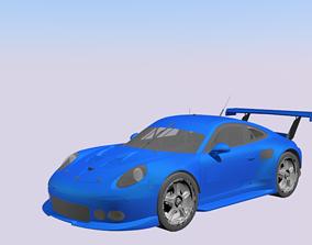 3D model Porsche 911 rsr