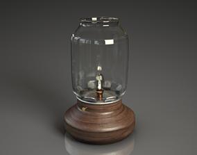 Retro vintage style lamp 3D asset
